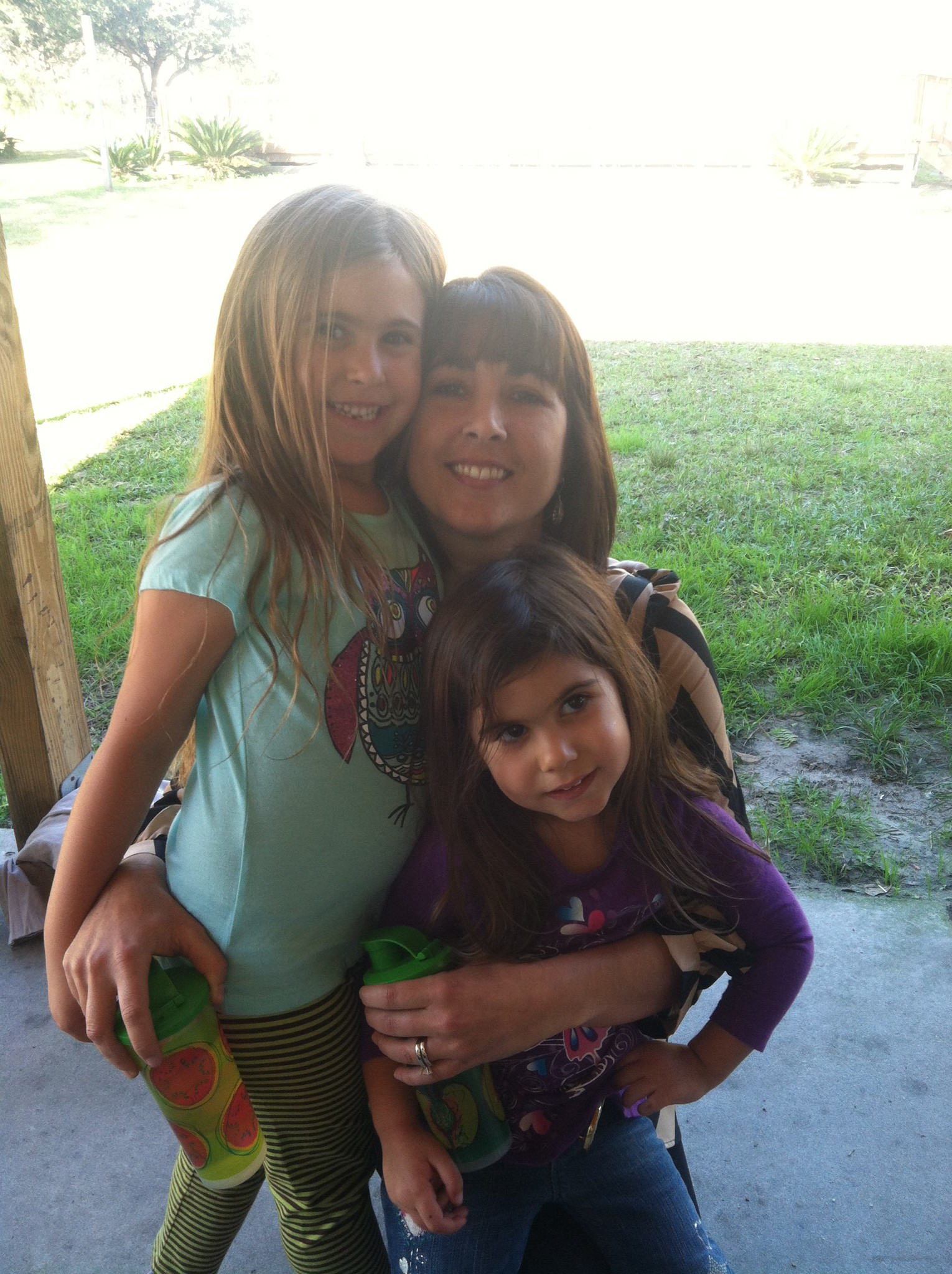 me and my baby girls