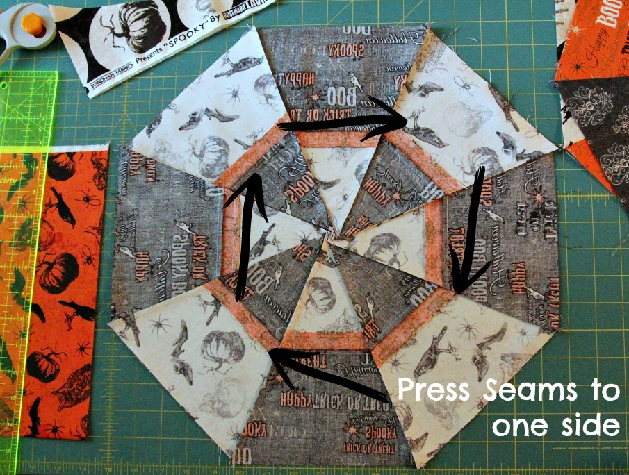 press Spooky Seams