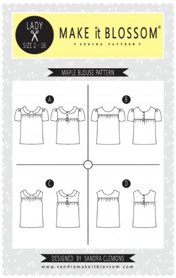 maple blouse pattern