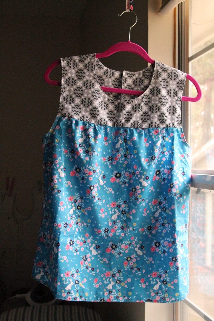 front yard maple blouse sleeveless