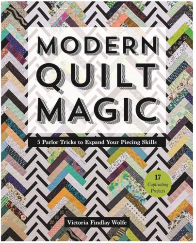modern quilt magic book